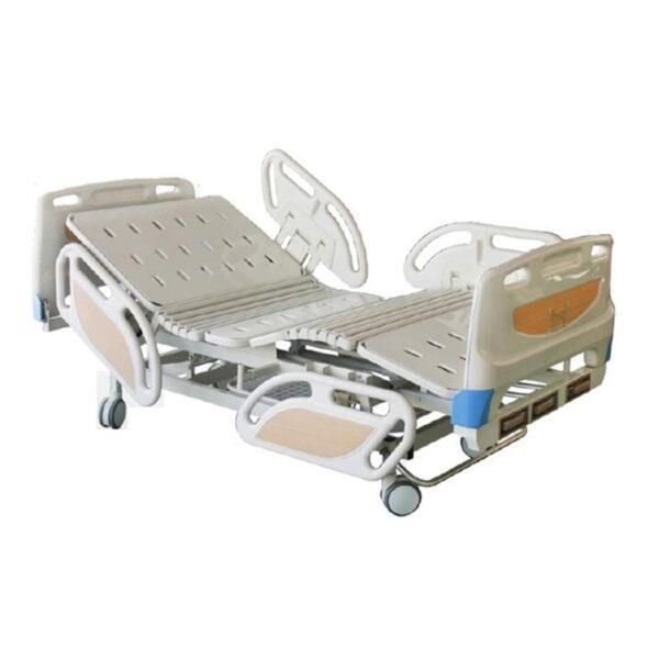 Manual Three-Crank Sickbed Patient Bed