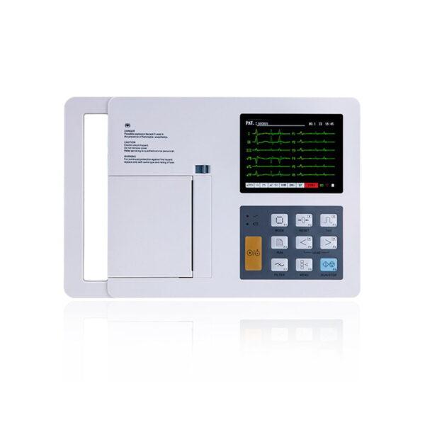 12-Channel Color ECG Machine