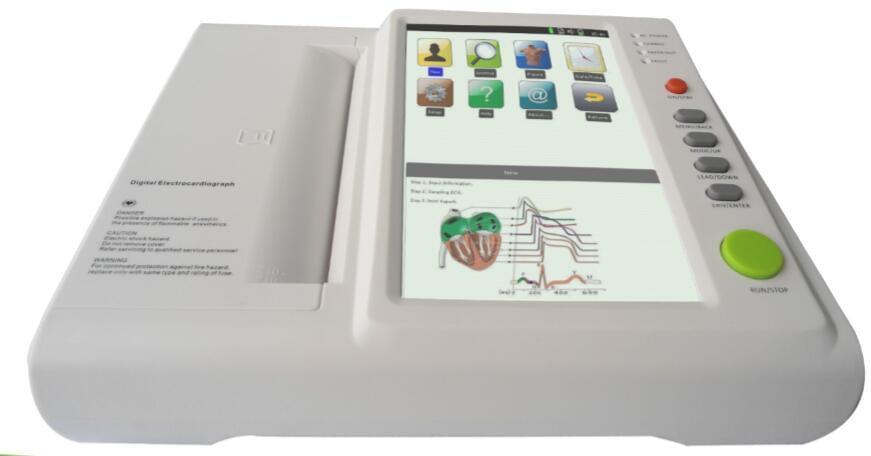 What can an ECG machine tell you?