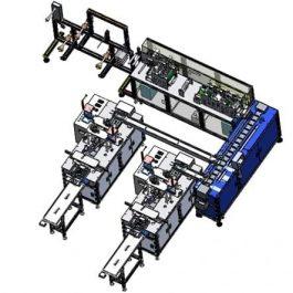 Automatic mask production line