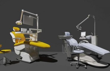 What are the main components of the dental chair?
